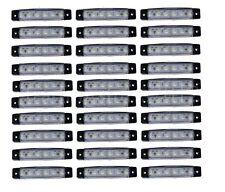 30 Stück x6 LED weiß Leuchte Lampe LKW Begrenzungsleuchte Umrißleuchte Seite 24V
