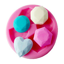 FOUR-C Silicone Love Heart Chocolate Ice Soap Mold Cake Fondant Decorating Tool