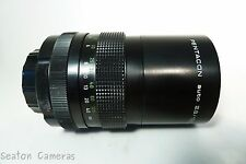 Pentacon 135mm f2.8 large aperture prime lens in M42 screw mount - M4/3 etc