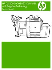 HP CM8060 / CM8050 MFP Printer Service Repair Manual (Parts & Diagrams)