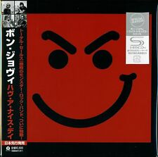 BON JOVI HAVE A NICE DAY 2010 JAPAN RMST SHM CD+5 - LMT EDT MINI-LP STYLE - OOP!