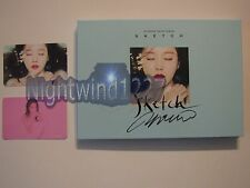 Signed Hyomin Sketch 2nd Mini Album Kpop Autographed T-ara