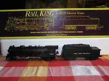 MTH RAIL KING NYC O GAUGE L-3 MOHAWK 4-8-2 MT1101 #3000 OB EXCELLENT +