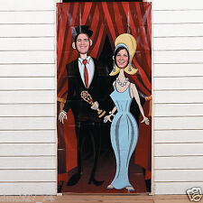Movie Night HOLLYWOOD Awards Party COUPLE Photo Photograph Prop Door Banner