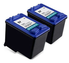 Recycled HP 57 ink (C6657AN) Color for HP PSC 1315 1210 1350 1310 1110 2PK
