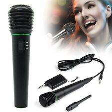 2in1 Professional Wired&Wireless Handheld Microphone Mic Receiver karaoke
