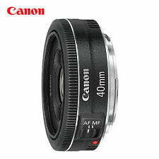 Canon EF 40mm f/2.8 STM 0.98 ft/0.3m Pancake Lens _ black