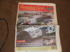 Motoring News 23 February 1994 Barry Lee Jim McGee Feature Top Fuel Review FA15