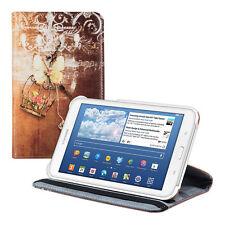 kwmobile 360° Schutz Hülle für Samsung Galaxy Tab 3 7.0 Lite Kunstleder Romance