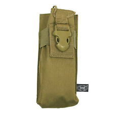 GENERAL RADIO POUCH TACTICAL POCKET MOLLE WEBBING MODULAR SYSTEM AIRSOFT COYOTE