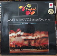 SANDOR LAKATOS ET SON ORCHESTRE TZIGANE IV FRENCH LP DISQUES Az