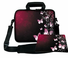 LUXBURG 17,3 Inch Design Laptop Notebook Shoulder Bag with Matching Mousepad #DQ