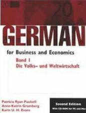 German for Business and Economics Vol. 1 : Die Volks-und Welwirtschaft...