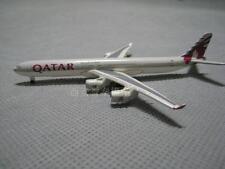 NEW 1:600 METAL QATAR Airways AIRBUS A340-600 Diecast Model