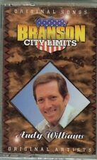 ANDY WILLIAMS - BRANSON CITY LIMITS - CASSETTE - NEW