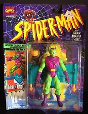 TOY BIZ SPIDER-MAN ANIMATED SERIES GREEN GOBLIN ACTION FIGURE MARVEL VENOM S-53