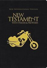 NIV New Testament with Psalms and Proverbs by Zondervan Staff (2015, Paperback)