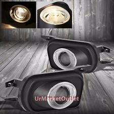Halo Projector Clear Lens Housing Fog Light/Lamp For Mercedes-Benz 01-05 C-Class