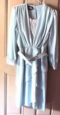 Ursula of Switzerland Formal Womens Dress Size 10 Mint Mother of the Bride Vinta