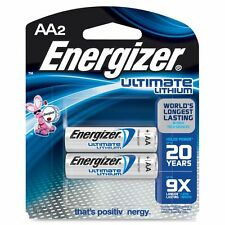 Energizer Ultimate Lithium AA Batteries - EVEL91BP2CT
