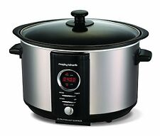 Morphy Richards 460004 Accents Slow Cooker - Brushed Steel.