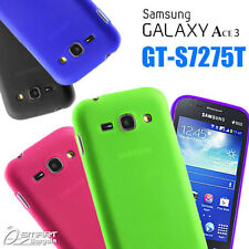 Matte Gel Case For Samsung Galaxy ACE 3 GT S7275 T + ScTPU Jelly Soft Cover 7272