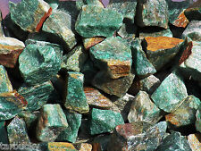 2 lb GREEN AVENTURINE Bulk Tumbling Rough Rock Stones Healing Crystals