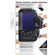 6x Displayschutzfolien für Canon EOS 600D Schutzfolie Klar Folie