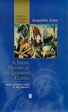 A Social History of the Laboring Classes: From Colonial Times to the Present (Pr
