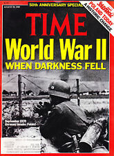 SHIPPED IN A BOX -  Time Magazine August 28 1989 World War II