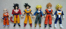 Dragon Ball Z 6x Action Figure Set: Super Saiyan 5 Trunks Goku Gohan Kuririn