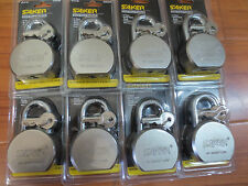 Lot of 8 pcs 65mm Steel Ball Pad Lock / Keyed Alike