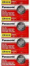 CR1616 Battery Lithium Coin Batteries (Pack of 4) by Panasonic