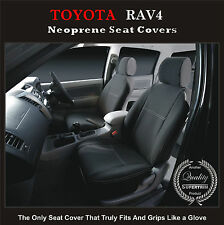 TOYOTA RAV4 FRONT WATERPROOF CAR SEAT COVERS-100% FIT OR YOUR MONEY BACK!