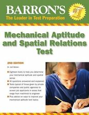 Barron's Mechanical Aptitude and Spatial Relations Test, Wiesen, Dr. Joel, New B
