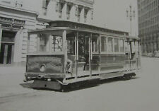 USA190 - CALIFORNIA STREET CABLE CAR Co SAN FRANCISCO - TROLLEY No10 PHOTO USA