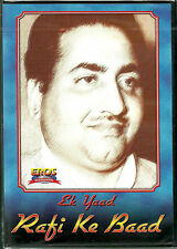 EK YAAD RAFI KE BAAD - BOLLYWOOD HIT 24 SONG DVD - FREE UK POST