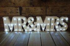 Mr and Mrs sign, Gift mr & mrs light up sign gift mr & mrs wedding LED Medium