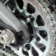 Pro BOLT Motocicleta Aluminio Piñón Tuercas M10/10mm Negro-Paquete de 6