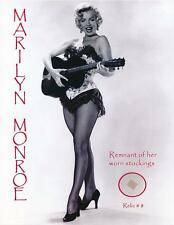 Marilyn Monroe- Remnant of Her Worn Stocking