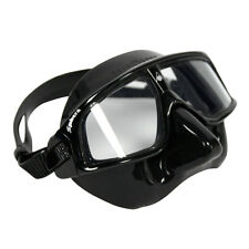 Aqualung Sphera Black Mask (Freediving, Spearfishing and Scuba Mask)