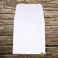 100 2x2 White Paper Coin Envelopes - Acid and Sulpher Free - Safe for Coins