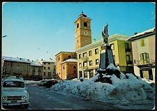 AD0315 Cuneo - Provincia - Boves - Piazza Italia innevata