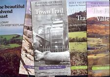 Dumfries Kirkcudbrightshire Galloway Gatehouse of Fleet Colvend Coast 5 leaflets