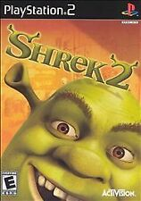 Shrek 2 (Sony PlayStation 2, 2004) Rated E for Everyone, Greatest Hits
