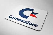 Retro Commodore Logo Mouse mat (CBM Amiga 64 C64 VIC20 Mouse Pad)