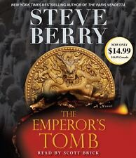The Emperor's Tomb Bk. 6 by Steve Berry (2011, CD, Abridged) **AUDIO BOOK**