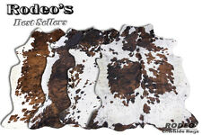 Superior Quality Rodeo Cowhide Rugs Value Combo Sets Large Size 4 pcs