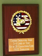 Cheerleading/Pons/Sport/Flag Award Plaque 4x6 Trophy FREE engraving