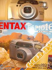 BXD PENTAX ESPIO 160 QUARTZ DATE~PANORAMA 35M FILM CAMERA~38-160MM SMC LENS MM17